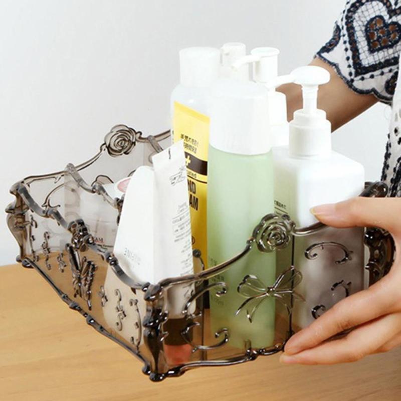 Dressing Table Transparent Cosmetics Sto