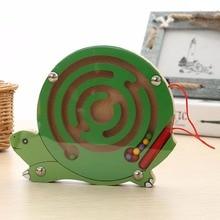 Puzzle éducatif en bois pour bébés, Puzzle, animaux, labyrinthe magnétique, jeux de développement intellectuel, petits stylos, jouets pour enfants