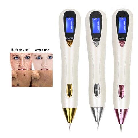 Lcd laser cuidados com a pele ponto caneta varredura mole remo o mancha escura removedor