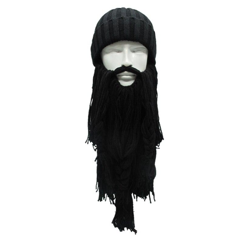 Hot! Men Ourdoor Cap Vagabond Beard Hats Handmade Winter