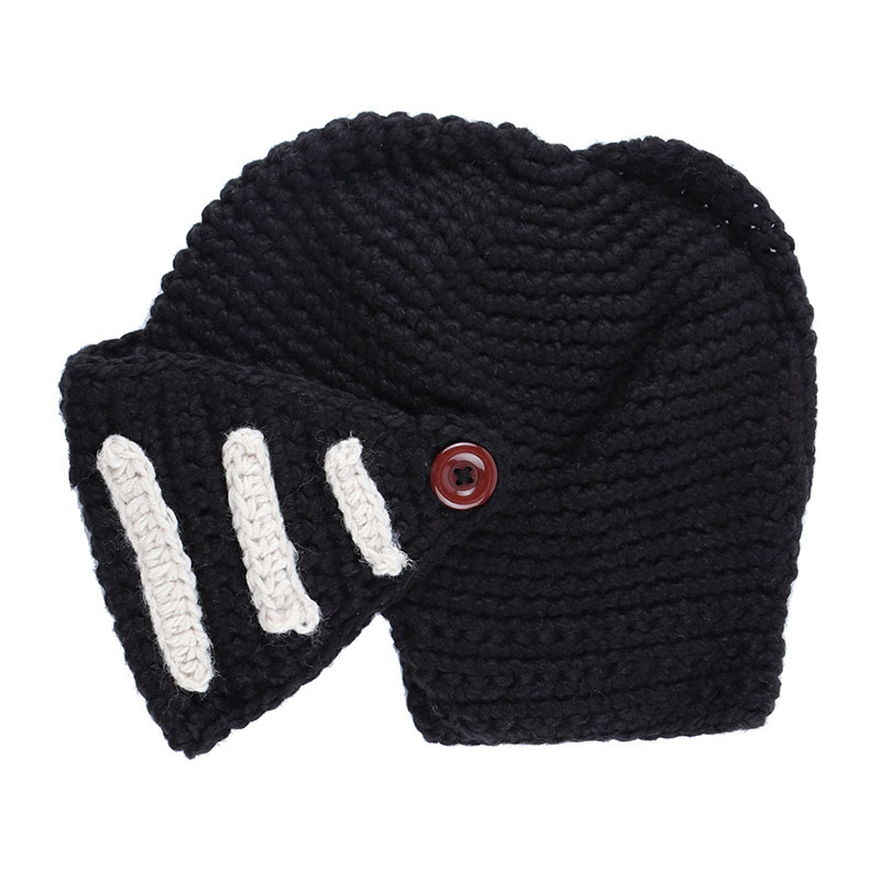 d8b459fe27768 Knight Helmet Knit Hat