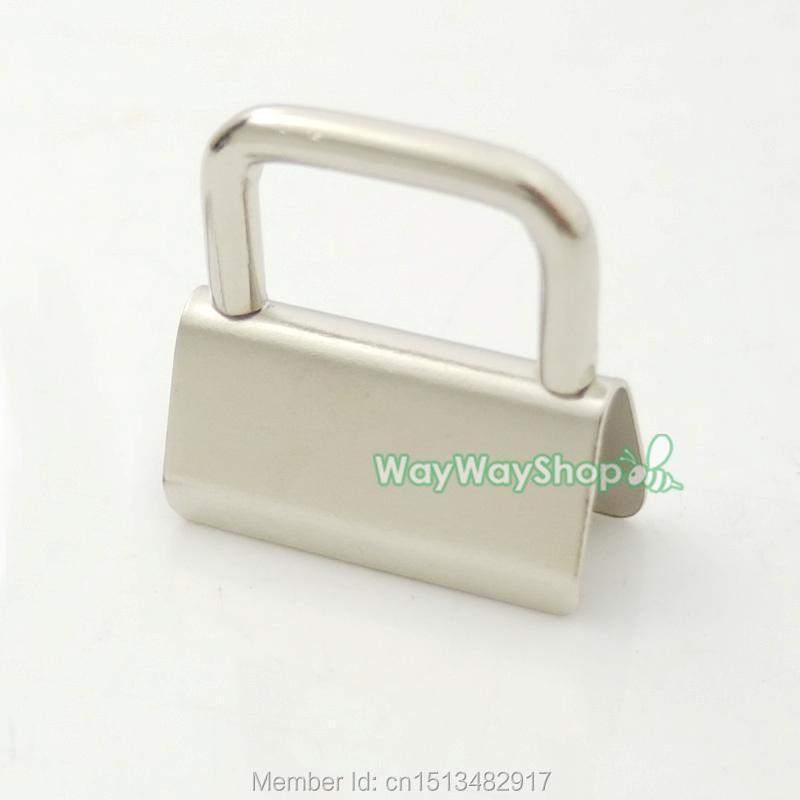 100 PCS Matériel De Porte Clé 25mm 32mm 1 ''1.25'' Pour porte clé Split anneau poignet Bracelets de Coton dans Boucles et Crochets de Maison & Jardin