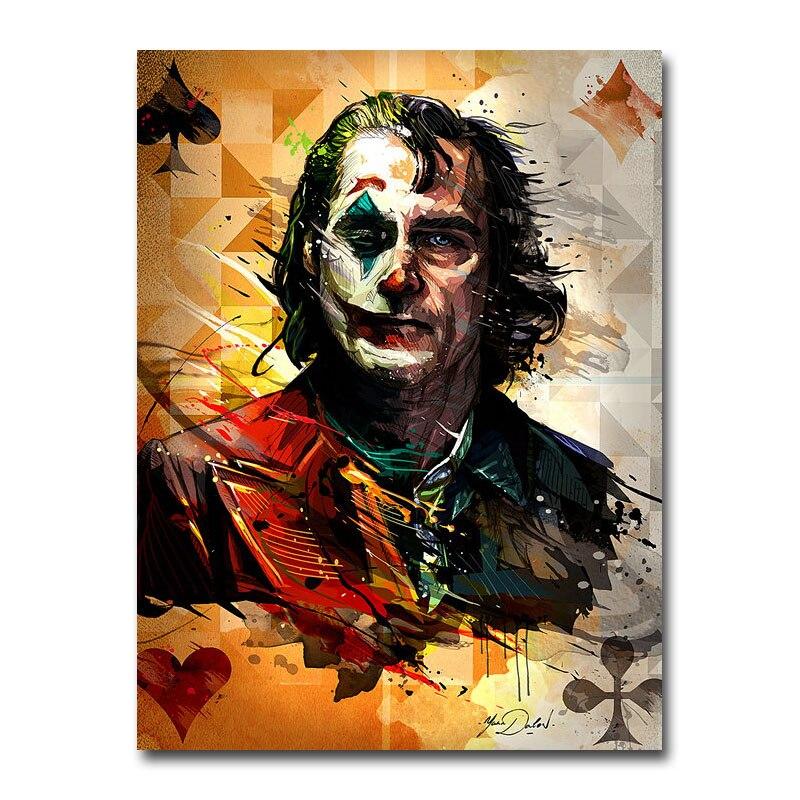 The Joker Hot Movie Art Silk Poster Print
