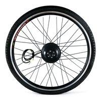 26x1.75'' Electric Bicycle Rear Wheel Disc Brake Hub Motor Kit 36V 250W Powerful Motor E Bike Conversion Kit Controller