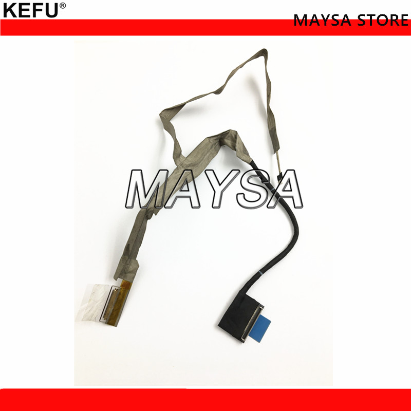 New original lvds cable Fit For Dell <font><b>ALIENWARE</b></font> <font><b>M18X</b></font> <font><b>R3</b></font> VAS10 LVDS CABLE ASSY LCD CABLE CN-0NC4YP 0NC4YP NC4YP image