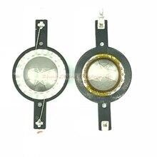 20 штук 25,4 мм Титан диафрагмы кольцо регулятора тембра высоких частот по индивидуальному заказу звуковая катушка наушников 25,5 Core 6OHM 8OHM 1 пара