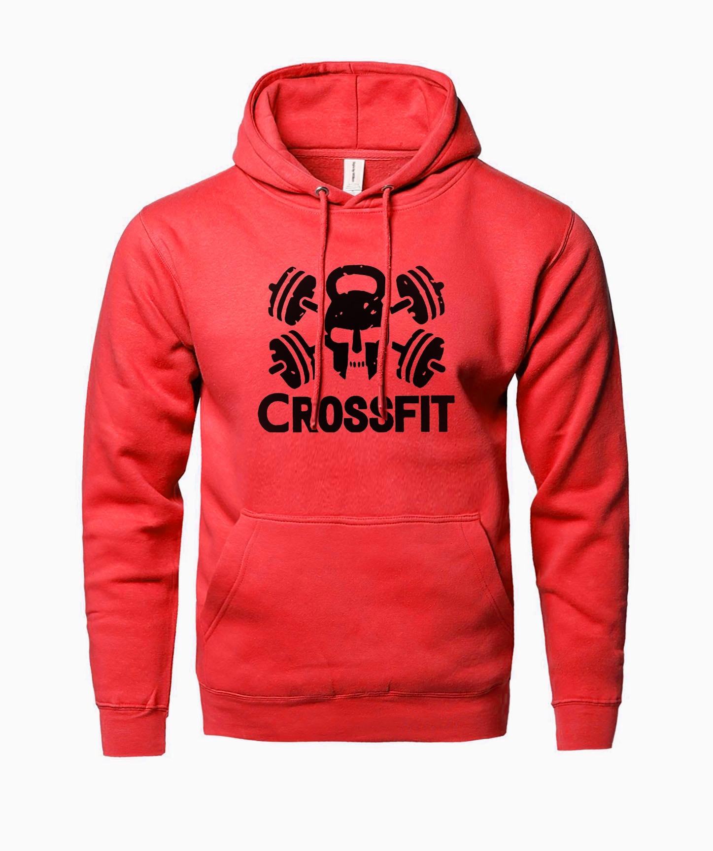 Crossfit men hoodies 2019 hot sale sweatshirt men spring winter fleece high quality fitness hooded men fashion brand clothing