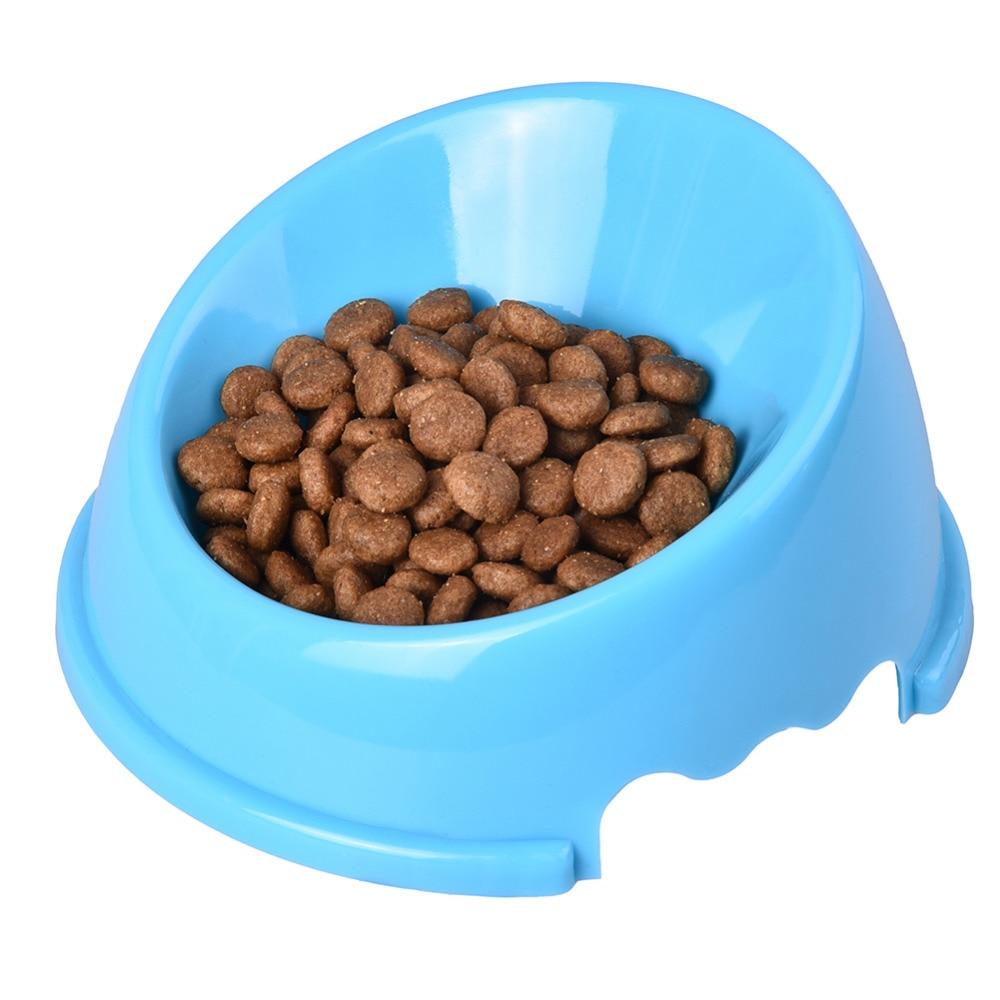 Oblique Mouth Solid Bowl Pet Cat Kleine dierenhond Willekeurig - Producten voor huisdieren - Foto 4