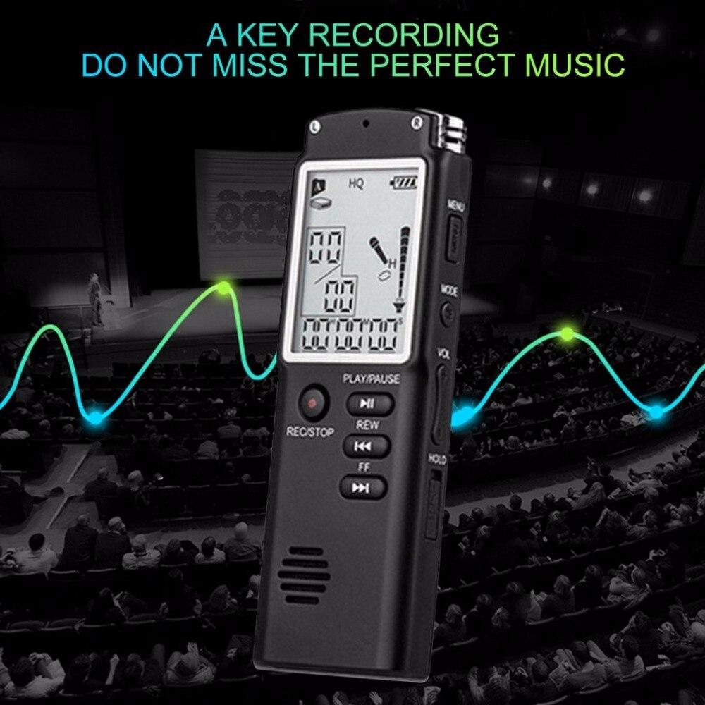 Unterhaltungselektronik Mp3 Player Tragbares Audio & Video KüHn 8 Gb/16 Gb Voice Recorder Usb Professional 96 Stunden Diktiergerät Digital Audio Voice Recorder Mit Wav