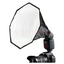 Free shipping  30cm Octagonal Mini Flash Diffuser Soft Box for Digital SLR Camera (Black)