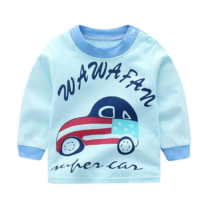 baby kids tops cotton cartoon unisex t shirt tee lovely long sleeve pullover sweatshirts roupa thin soft sweet clothes 4de10 (6)