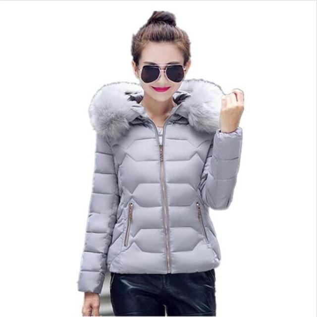 Women coat High Quality Autumn And Winter Inverno Wadded For Women Slim Down Jacket 2017 new fashion coat