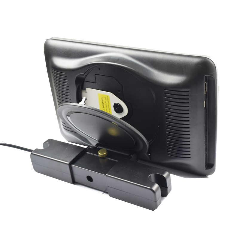 2 個 10.1 インチ車のヘッドレスト DVD モニター HD ビデオプレーヤータッチ TFT LCD スクリーン USB/SD/ HDMI/IR/FM トランスミッター/ゲーム