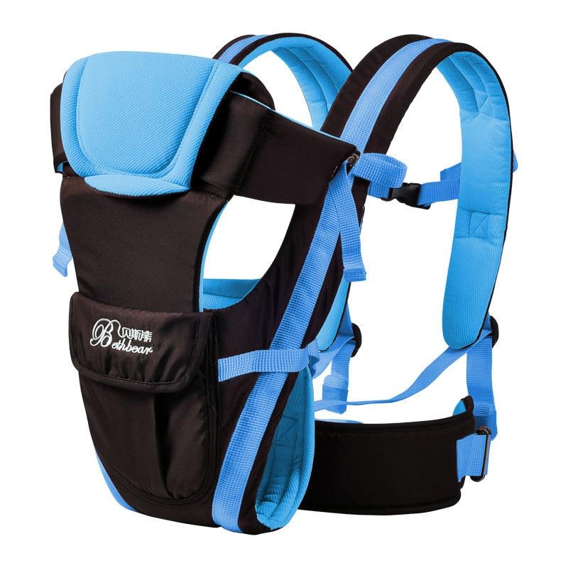 0-30 Months Ergonomic Baby Carrier Backpack Sling Wrap Baby Kangaroo Bag Carrying Holder Belt For Infant