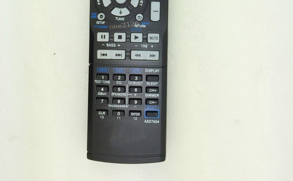 New Replacement Remote Control For Pioneer AXD7532 AXD7586 VSX-520-K  VSX-819H-K AV Receiver Power amplifier