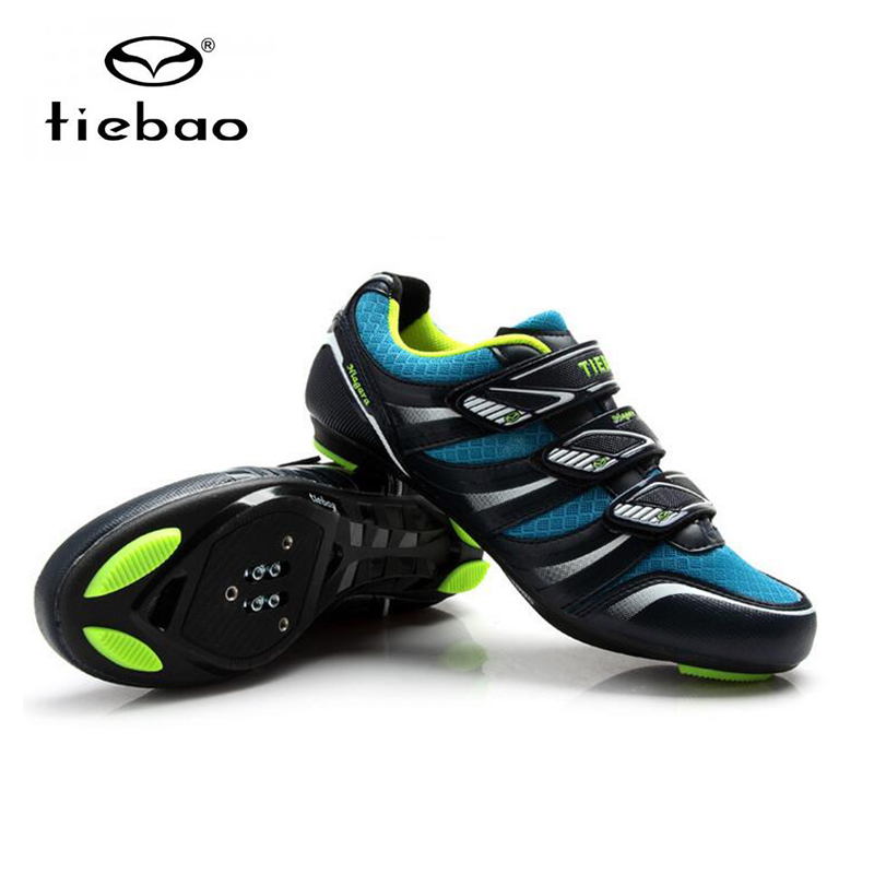 TIEBAO bicycle shoes road zapatillas hombre bisiklet womens athletic equitation men racing road bike shoe sapatilha ciclismo in Cycling Shoes from Sports Entertainment