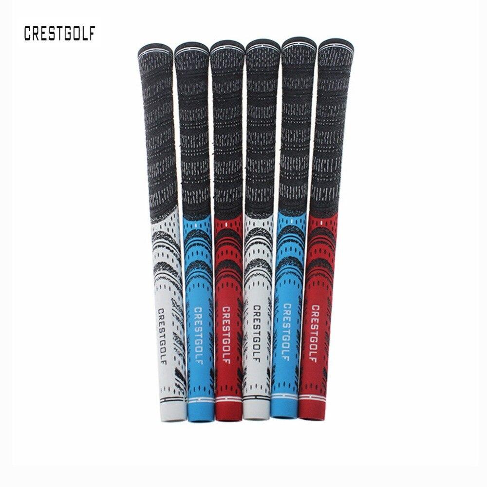 10pcs lot Carbon Yarn Cord font b Golf b font irons Grips font b Golf b