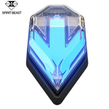 SPIRIT BEAST Motorcycle Turn Signal Motocross LED Lights Modified Accessories Highlight Warning Waterproof