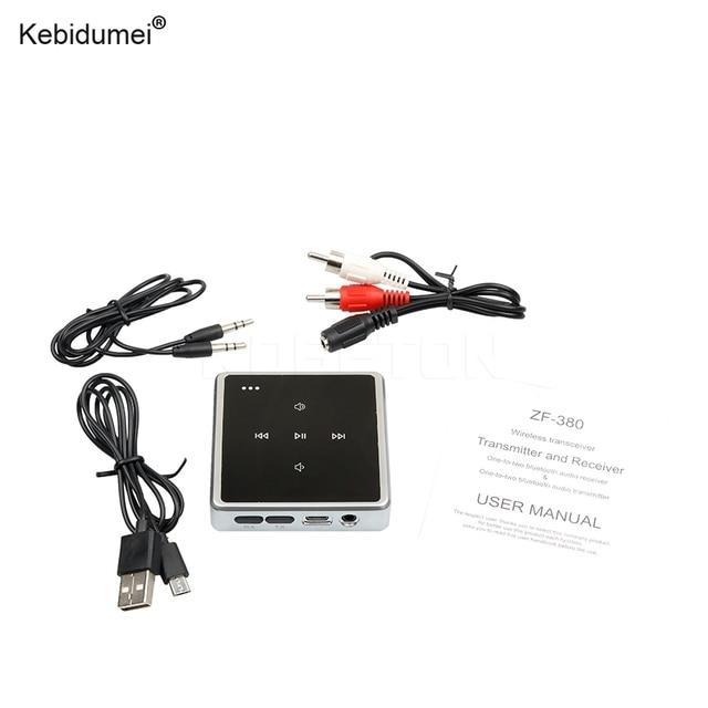 kebidumei wireless aux music bluetooth transmitter receiver touch rh aliexpress com Bluetooth Adapter for TV Bluetooth Adapter for TV