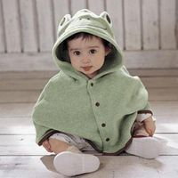 Style Baby Kids Cloak Clothing Child Lovely Small Animals Cape Waistcoat