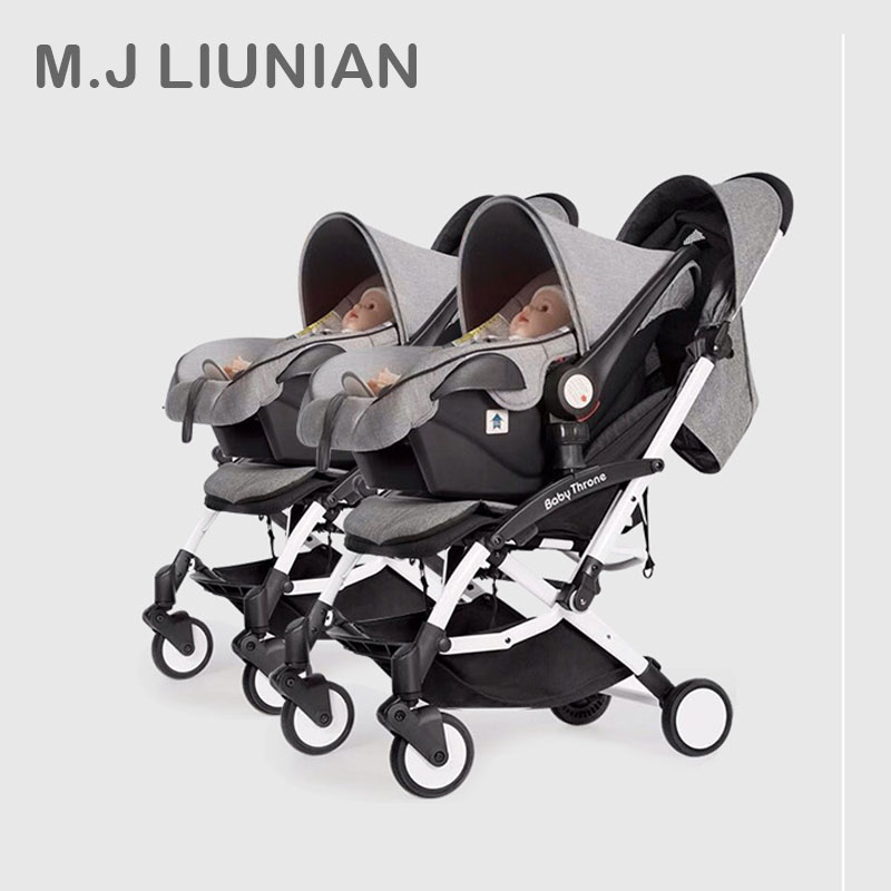 NEW!Baby Twin Stroller Can be separate baby sleeping basket handcart kids cart 0-3Y Portable multifunction combo high landscapeNEW!Baby Twin Stroller Can be separate baby sleeping basket handcart kids cart 0-3Y Portable multifunction combo high landscape