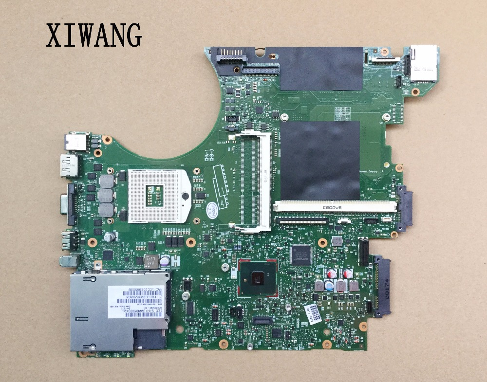 все цены на 595698-001 Main Board Free Shipping For Hp Elitebook 8740w 8740P Laptop Motherboard QM57 DDR3 with graphics slot онлайн