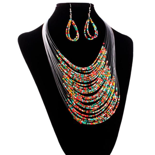 Trendy Jewelry Multicolor...