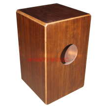 Afanti Music Acacia Wood / Natural Cajon Drum (KHG-158)
