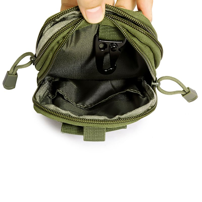 Multifunction Security Pack Carry Accessory Kit Blowout Pouch Belt Waist Bag Nylon Tactical Pack For Camping Hiking Travel