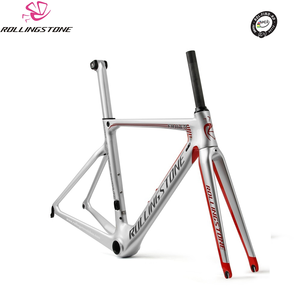 Rolling Stone UCI bicycle frame carbon road bike aero frameset FINDER 2018 700C 45 47 50 52 54cm racing toray T800 ultralight bicycle frame