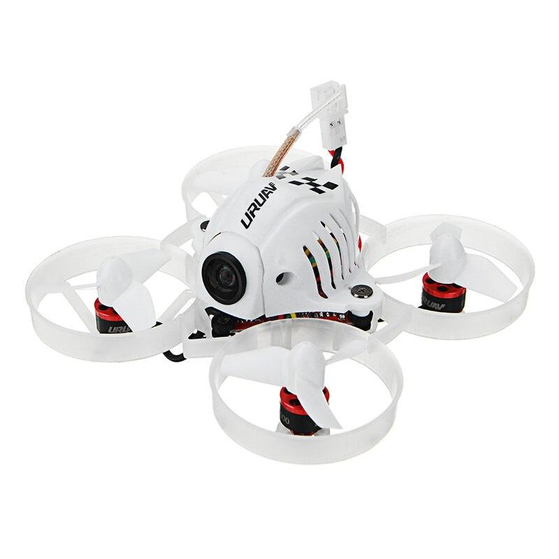 URUAV UR65 65mm FPV Racing Drone BNF Crazybee F3 controlador de vuelo OSD 5A Blheli_S ESC 5,8g 25 MW VTX RC Quadcopter VS Tiny 6x 7x