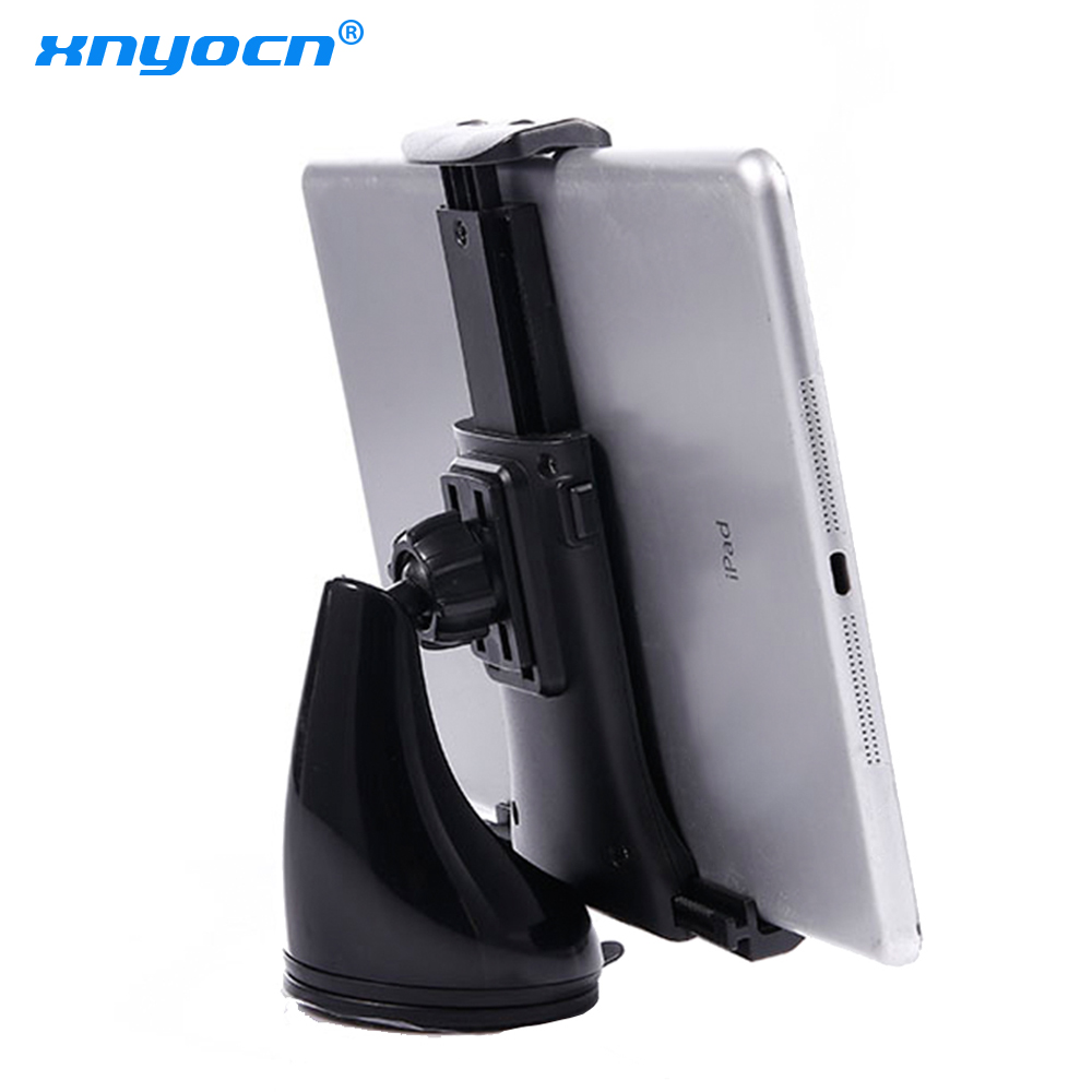 New 11.5-21cm Flexible Mobile Tablet Car Stand Holder Universal Suction Cup Car Windshield Mount Holder Stand for Mobile Phone