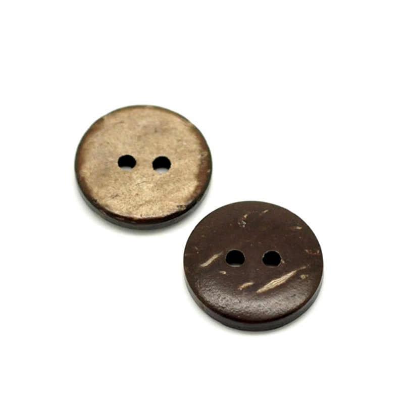 LF 50 sztuk 25/20mm mieszane okrągłe drewniane guziki do tkaniny robótki płaskie ozdoby do dekorowania albumów rzemiosło dekoracyjne akcesoria dla majsterkowiczów
