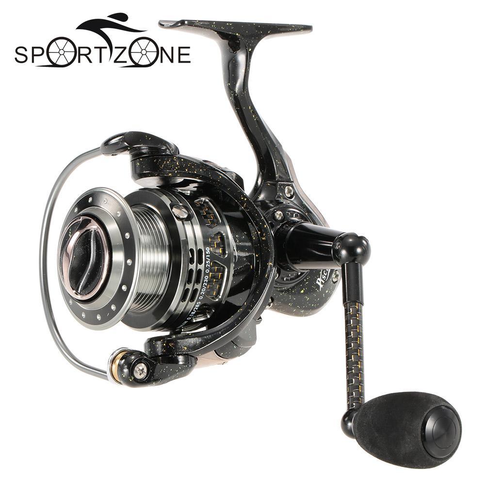 Metal Spinning Fishing Reel 6 1BB STX20 STX30 Fishing Tackle Pesca Carrete Spinning Reel Feeder Carp