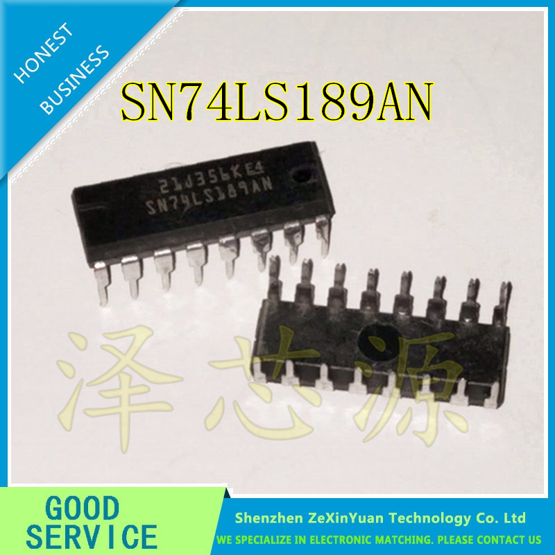 5PCS/LOT SN74LS189AN HD74LS189P 74LS189 DIP-16