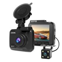 Azdome Gs63H 4K Built In Gps Wifi Night Vision Driving Recorder Mirror Dash Cam With 170 Degree Wide Angle Lens