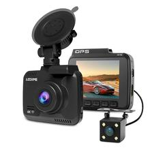 Azdome Gs63H 4K Built-In Gps Wifi Night Vision Driving Recorder Mirror Dash Cam With 170 Degree Wide Angle Lens