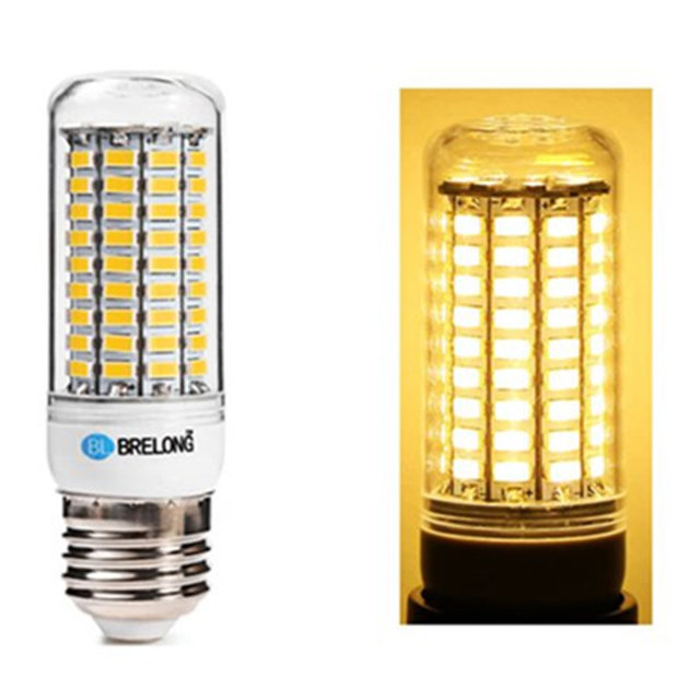 BREL0NG E27 LED Corn Bulb Lamp 20W 5730SMD 2000LM Warm White Light 99LEDs Corn Bulb Lampada Energy Saving Light for Home