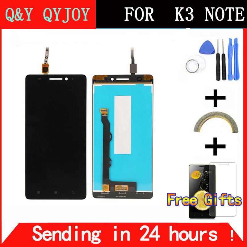 Q Y QYJOY 5 5 inch For Lenovo K50 T5 K3 Note LCD Display Digitizer Touch