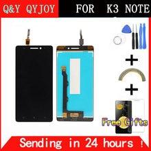 Q & Y qyjoy 5.5 дюймов для Lenovo K50-T5 K3 Примечание ЖК-дисплей Дисплей планшета Сенсорный экран сборки Бесплатные инструменты Замена
