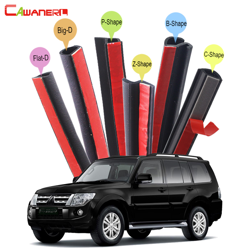 Cawanerl Whole Car Seal Sealing Strip Kit Sound Insulation Rubber Weatherstrip Seal Edge Trim For Mitsubishi Pajero Space ASX гульназ резванова зимняя весна первая книга о любви наивная