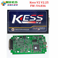 DHL Free 2016 High Quality KESS V2 15 FW V4 036 OBD2 ECU Chip Tuning Kit