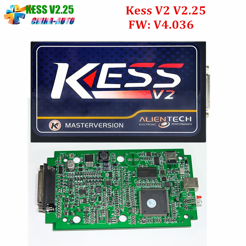 DHL Free! 2016 High Quality KESS V2 V2.30 FW V4.036 OBD2 ECU Chip Tuning Kit Master Version Without Token Limitation KESS V2.25  kess newest v2 28 obd2 tuning kit kess v2 fw4 036 sw2 28 ecu chip tuning tool free ecm titanium software free ship