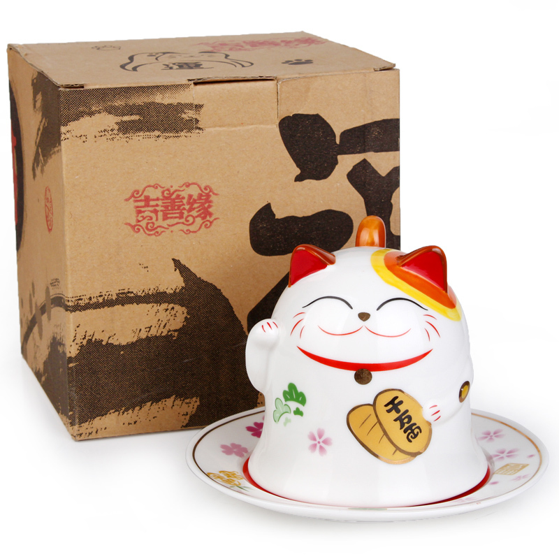Jishan Tang Ceramic Cups Japanese Style Cute Lucky Cat Lovers Mug Fashion Birthday Gift Ideas 0680 On Aliexpress