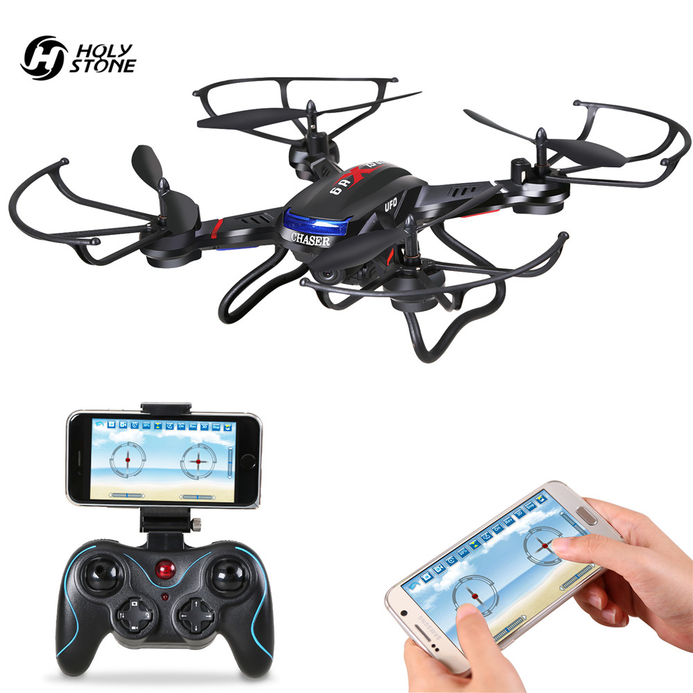 Holy Stone F181W Drone with HD Camera RC Helicopter Wifi FPV 720P Wide-Angle Live Video Quadcopter Gravity Sensor APP Easy Fly