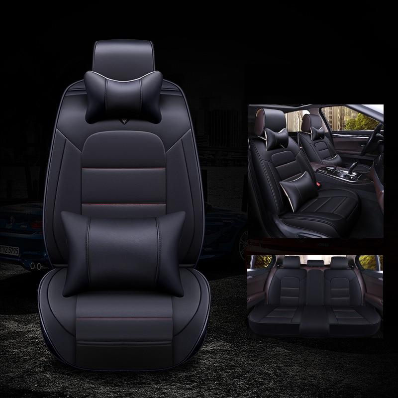 kalaisike leather universal auto seat cover for BMW all models e39 f11 f30 f10 e46 e70