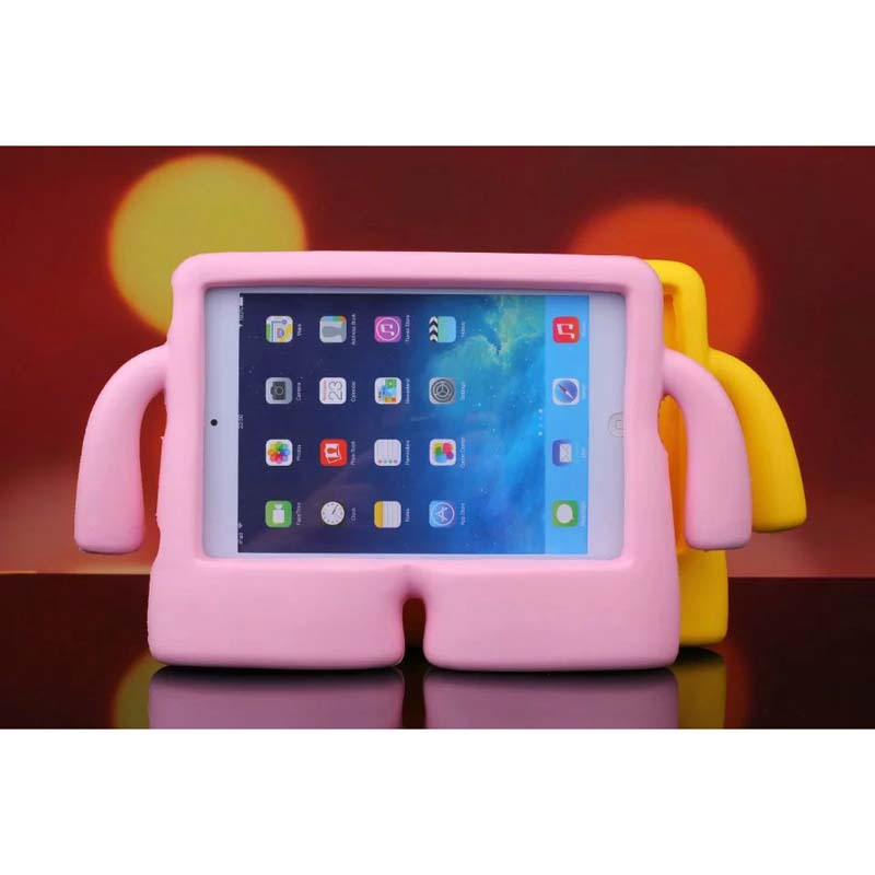 Popular 7.9 inch Silicone Thick Foam Soft Stand Case 3D Cute Cartoon Kids Cover for ipad mini 1/2/3 4 Alabasta Case Stylus