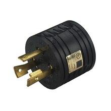 [L5-30P для TT-30R] ul cul RV 30 Ампер 3-контактный Генератор адаптер постоянного тока в переменный конвертер,(Национальная ассоциация владельцев электротехнических L5-30P мужчина к TT-30R Женский, 3-контактный разъем