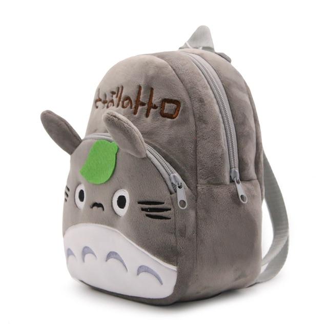 Baby Kindergarten Cartoon School Bags Cute Totoro Plush Backpacks For Kindergarten Boys Girls Lovely Candy Bag toys Kids & Baby Bags
