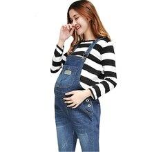 Jeans de maternité Pantalon Pour Les Femmes Enceintes Salopette Trounsers  Du Ventre Legging Grossesse Vêtements De Maternité Jea. 8d6caf6a41e